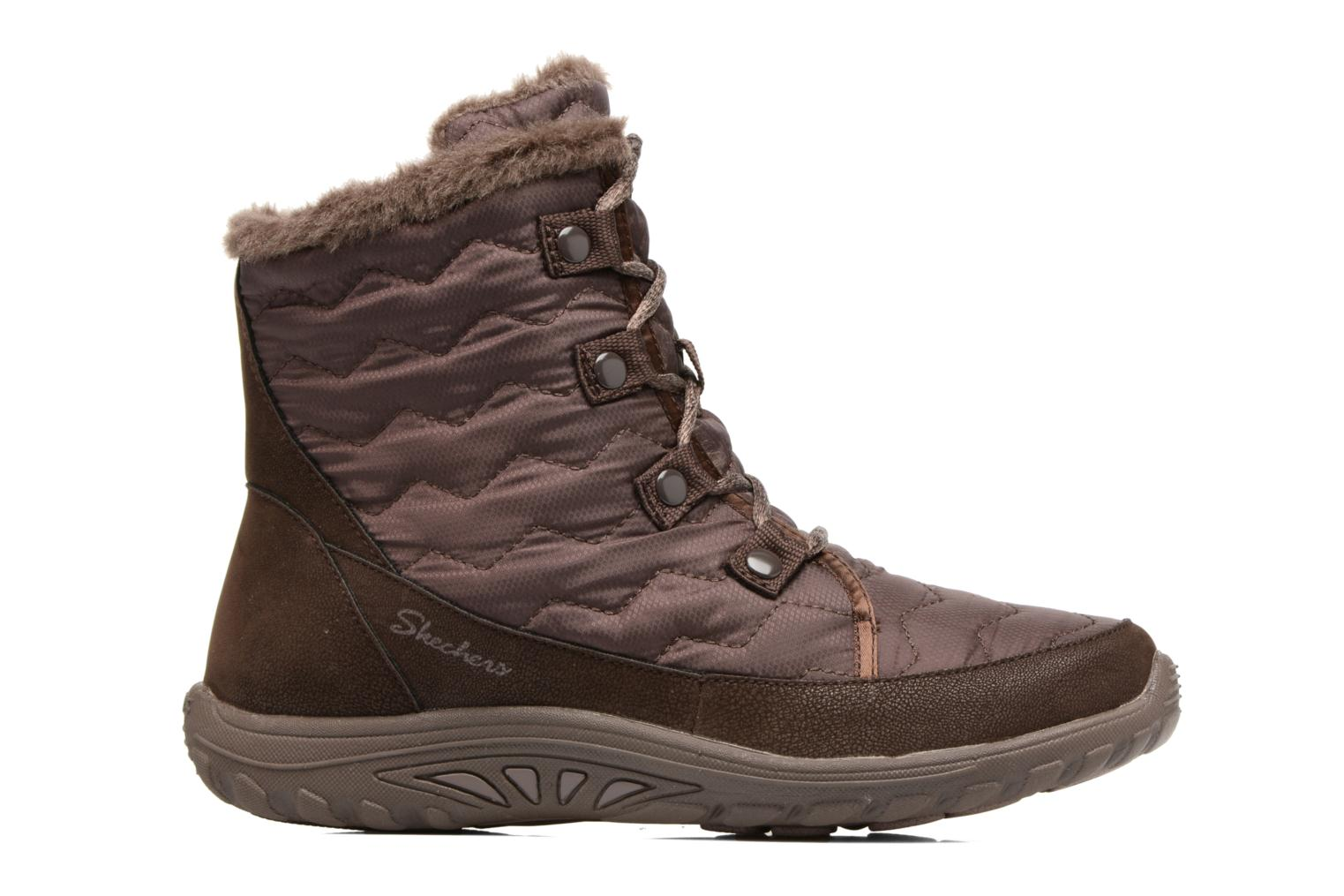 Ankle boots Skechers Reggae Fest Vector Brown back view