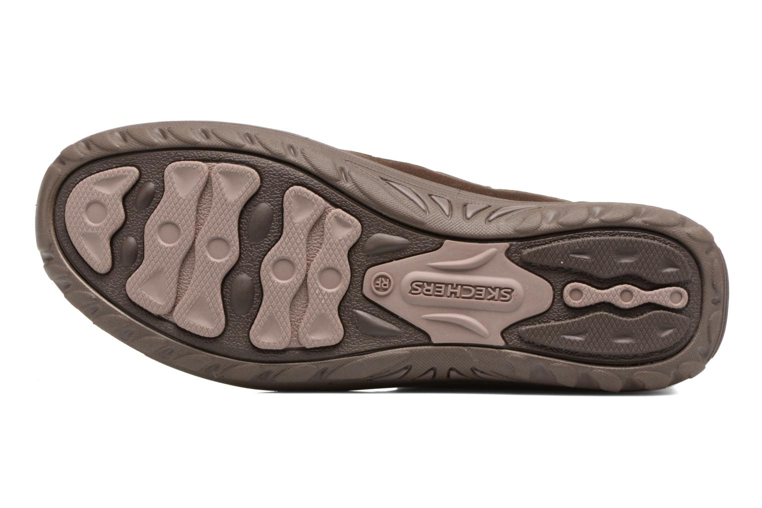 Ankle boots Skechers Reggae Fest Vector Brown view from above