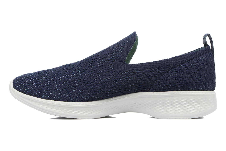 Sportschoenen Skechers Go walk 4 gifted Blauw voorkant