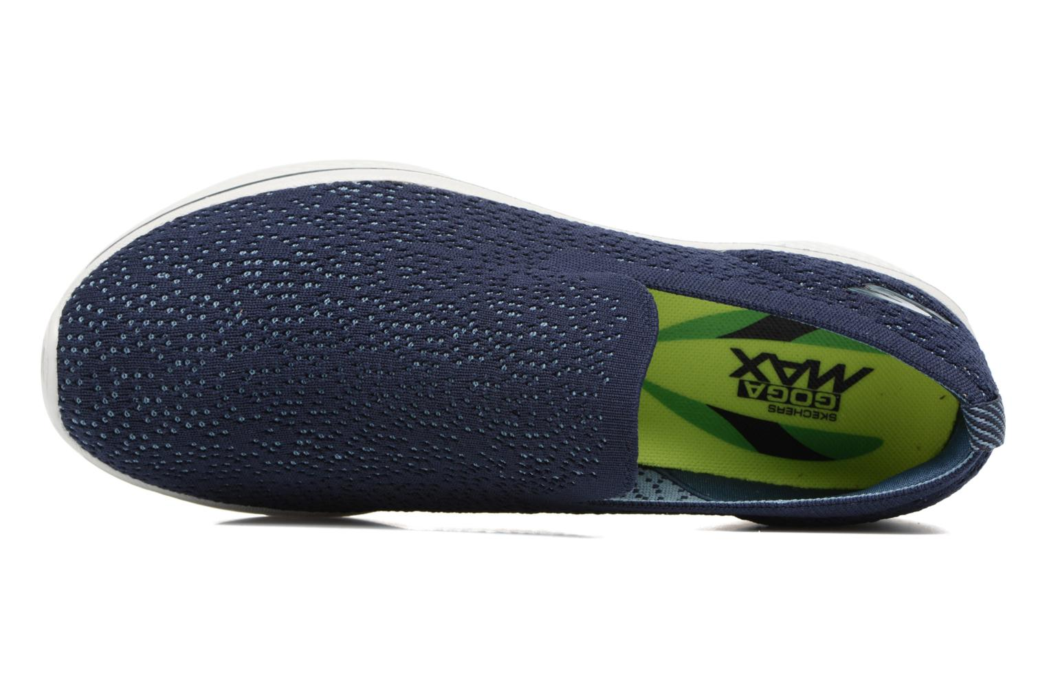 Sport shoes Skechers Go walk 4 gifted Blue view from the left