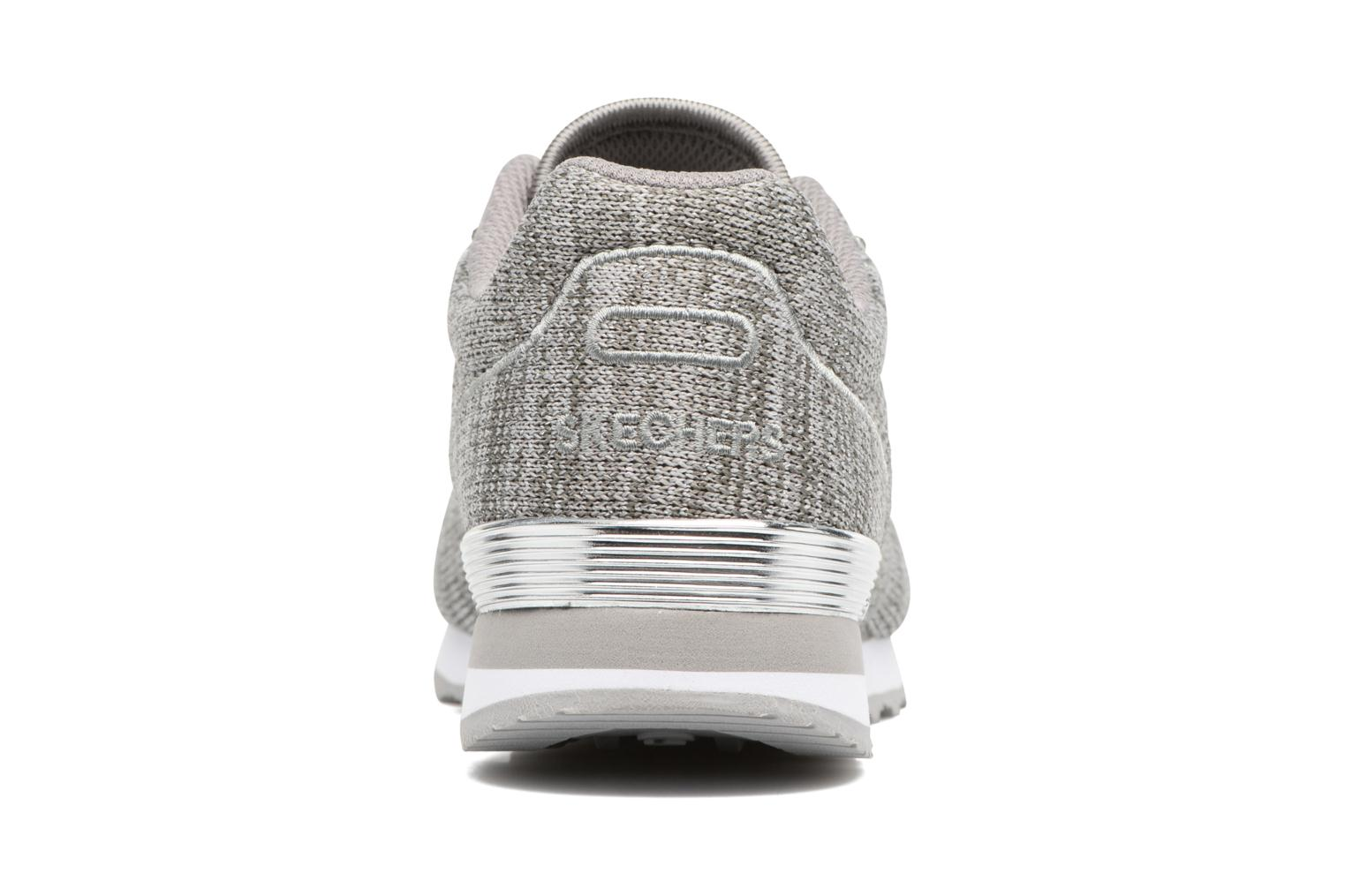 Deportivas Skechers OG 85 Low Flyers Gris vista lateral derecha