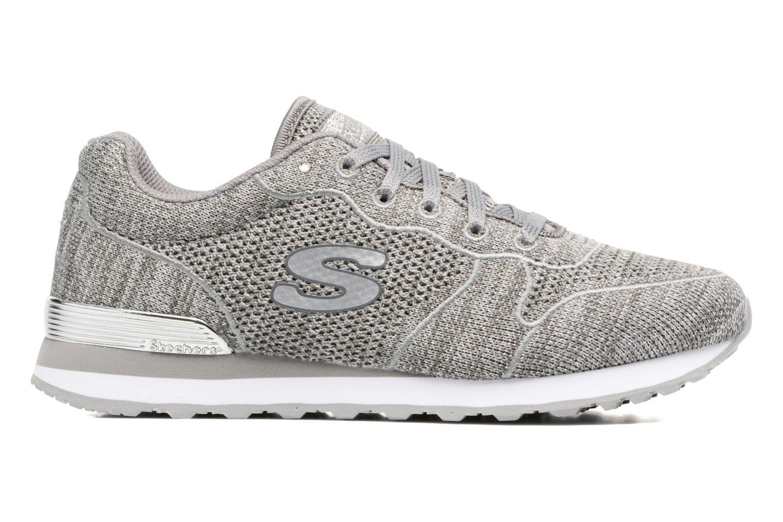 Sneaker Skechers OG 85 Low Flyers grau ansicht von hinten
