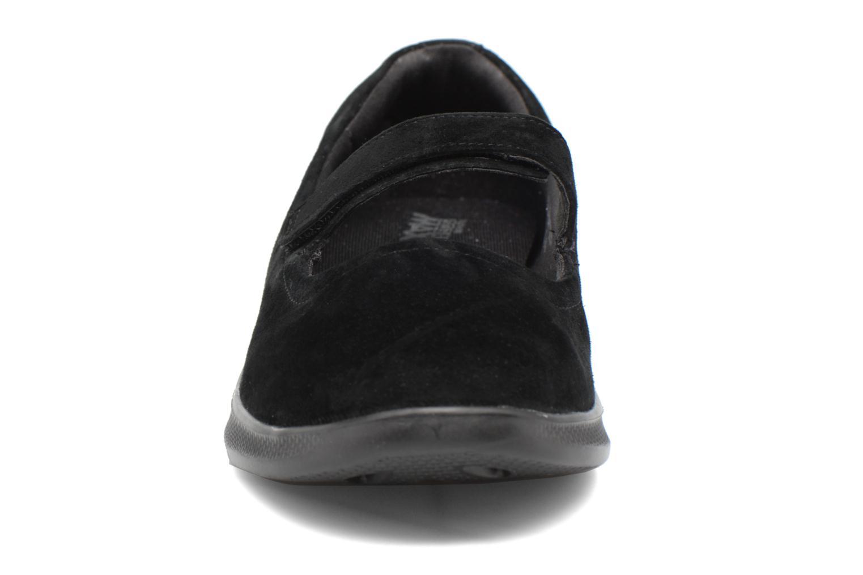 Ballerines Skechers Go Step lite quaint1 Noir vue portées chaussures