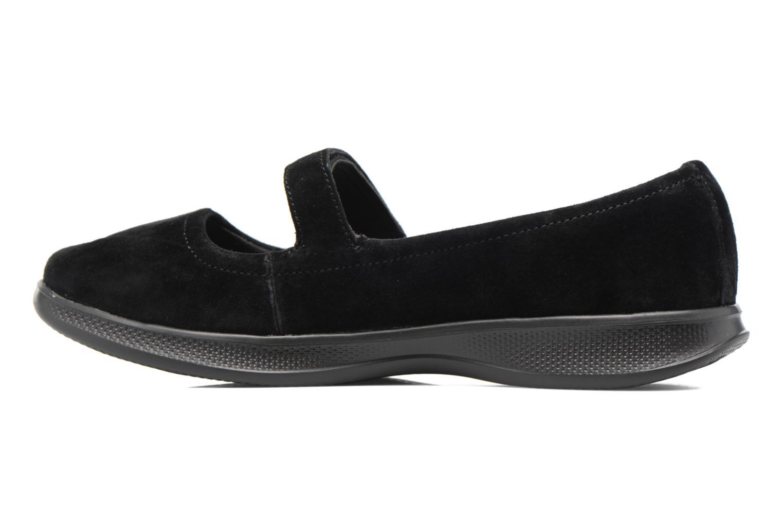 Ballet pumps Skechers Go Step lite quaint1 Black front view