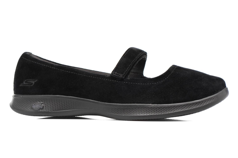 Ballerines Skechers Go Step lite quaint1 Noir vue derrière