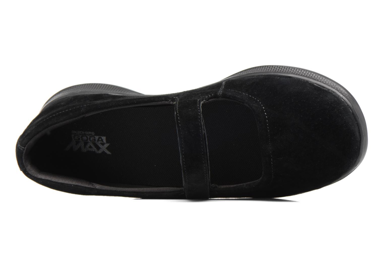 Ballerines Skechers Go Step lite quaint1 Noir vue gauche