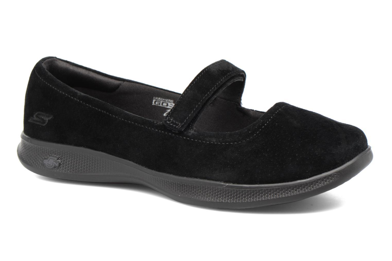 Ballerines Skechers Go Step lite quaint1 Noir vue détail/paire