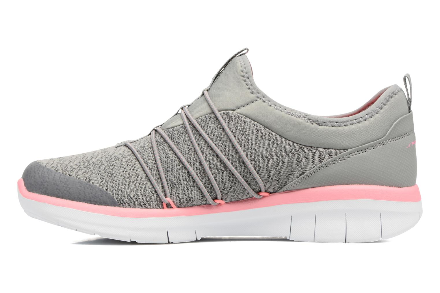 Sport shoes Skechers Synergy 2.0 Simply Chic Grey front view