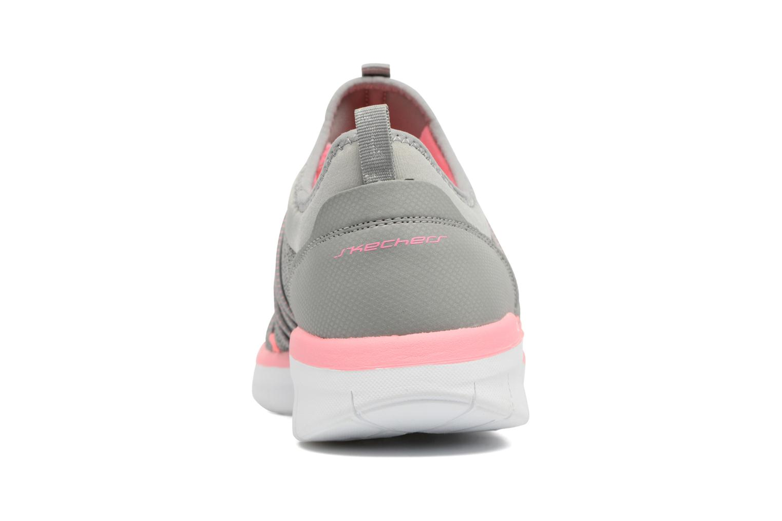Sport shoes Skechers Synergy 2.0 Simply Chic Grey view from the right