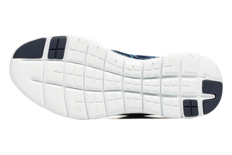 Sportschuhe Skechers Flex Appeal 2.0 New Gem blau ansicht von oben
