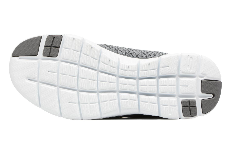Zapatillas de deporte Skechers Flex Appeal 2.0 Bold Move Gris vista de arriba