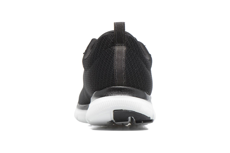 Chaussures de sport Skechers Flex Appeal 2.0 Newsmaker Noir vue droite
