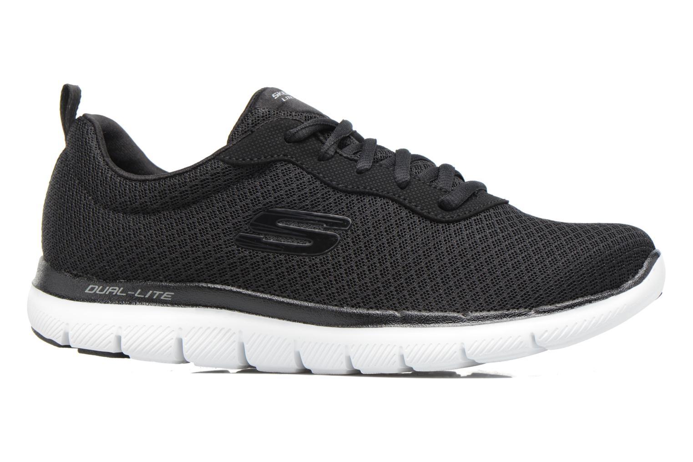 Chaussures de sport Skechers Flex Appeal 2.0 Newsmaker Noir vue derrière