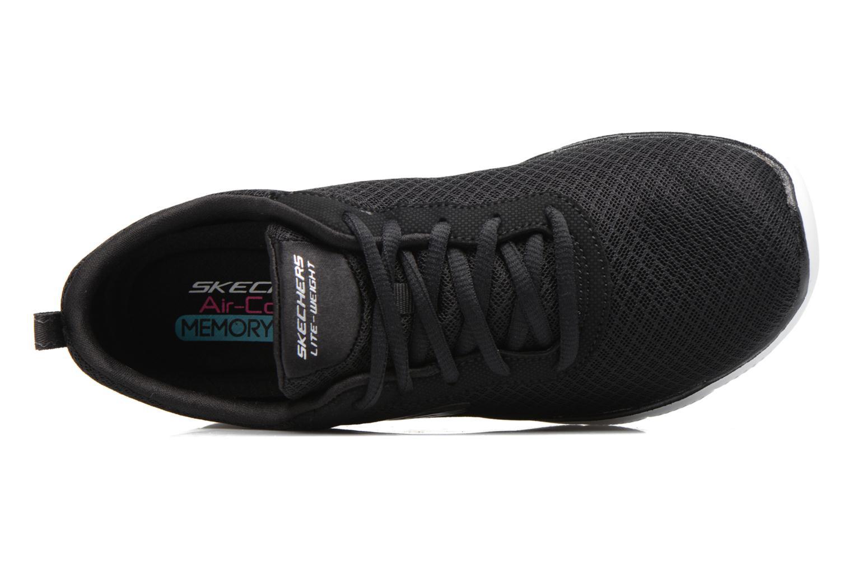 Chaussures de sport Skechers Flex Appeal 2.0 Newsmaker Noir vue gauche