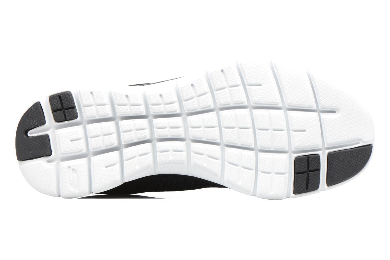 Chaussures de sport Skechers Flex Appeal 2.0 Newsmaker Noir vue haut