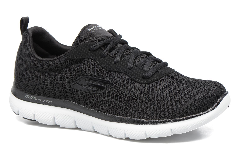 Chaussures de sport Skechers Flex Appeal 2.0 Newsmaker Noir vue détail/paire