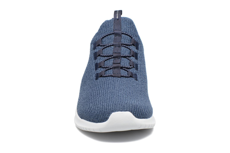 Sportssko Skechers Ultra Flex Blå se skoene på