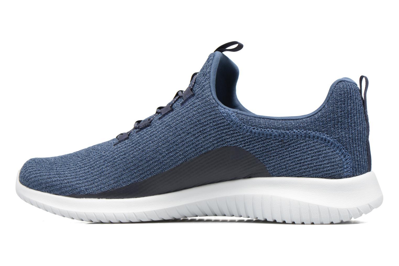 Chaussures de sport Skechers Ultra Flex Bleu vue face