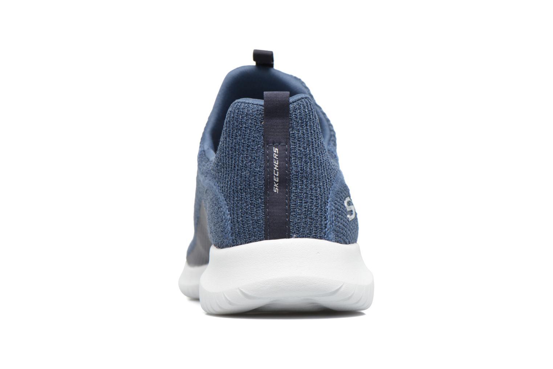 Chaussures de sport Skechers Ultra Flex Bleu vue droite