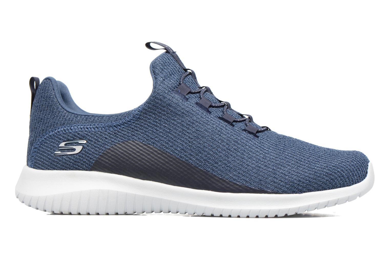 Chaussures de sport Skechers Ultra Flex Bleu vue derrière