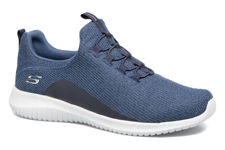 Chaussures de sport Skechers Ultra Flex Bleu vue détail/paire