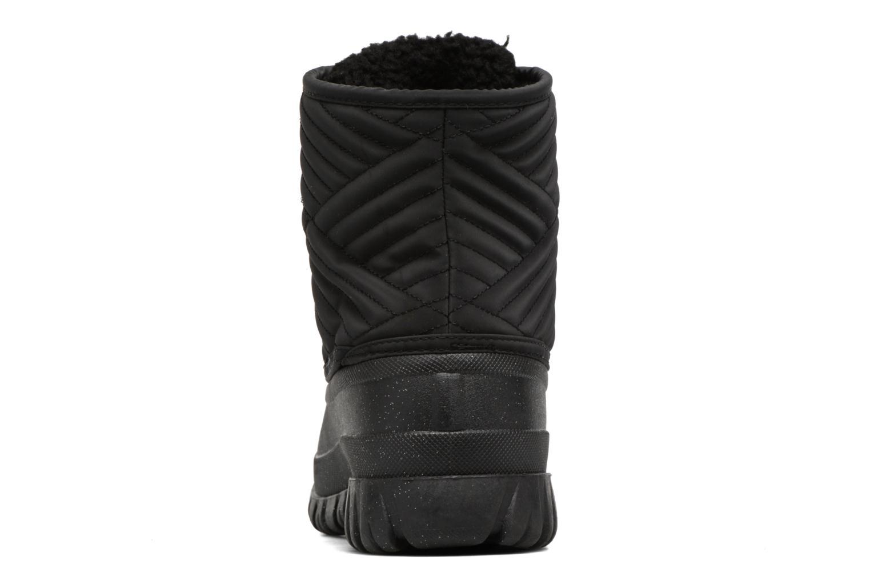 Zapatillas de deporte Skechers Windom dry spell Negro vista lateral derecha