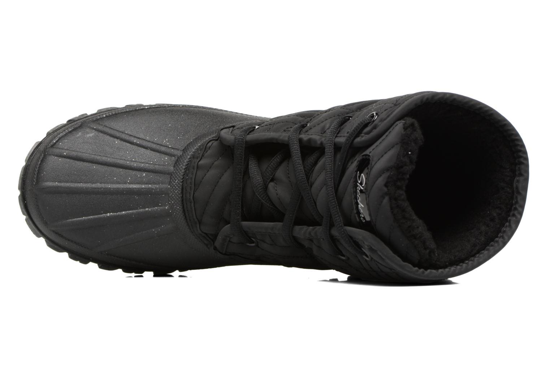 Sportschuhe Skechers Windom dry spell schwarz ansicht von links
