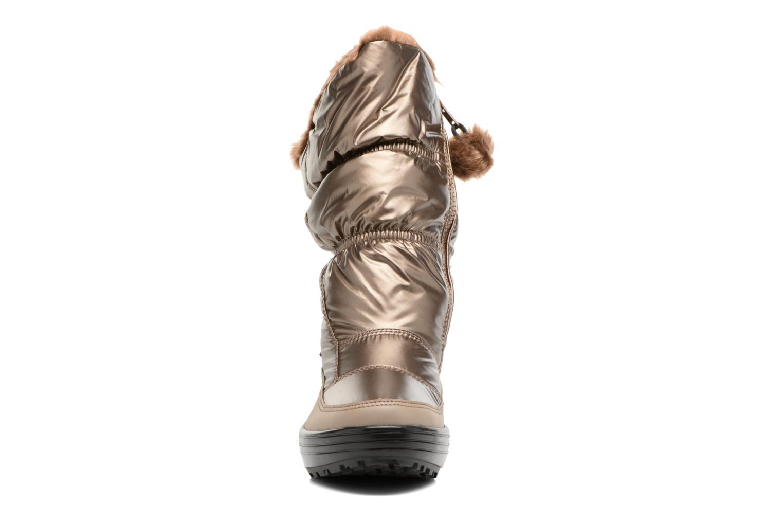 Zapatillas de deporte Skechers Alaska Abyss Oro y bronce vista del modelo