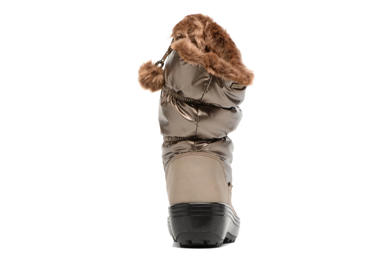 Zapatillas de deporte Skechers Alaska Abyss Oro y bronce vista lateral derecha