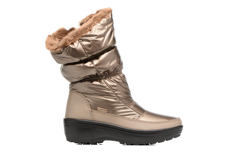 Sportssko Skechers Alaska Abyss Guld og bronze se bagfra