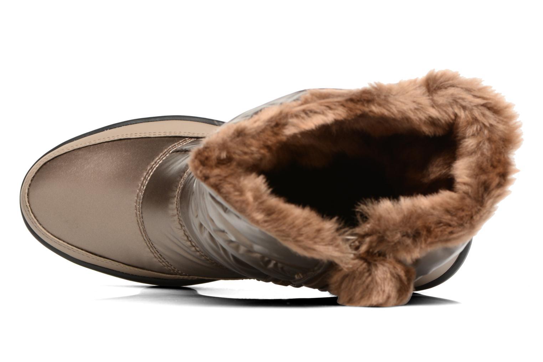 Zapatillas de deporte Skechers Alaska Abyss Oro y bronce vista lateral izquierda
