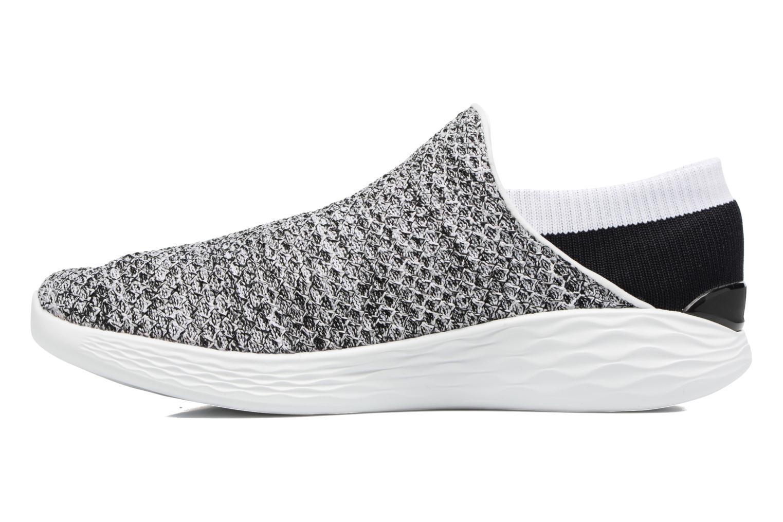 Chaussures de sport Skechers You Gris vue face