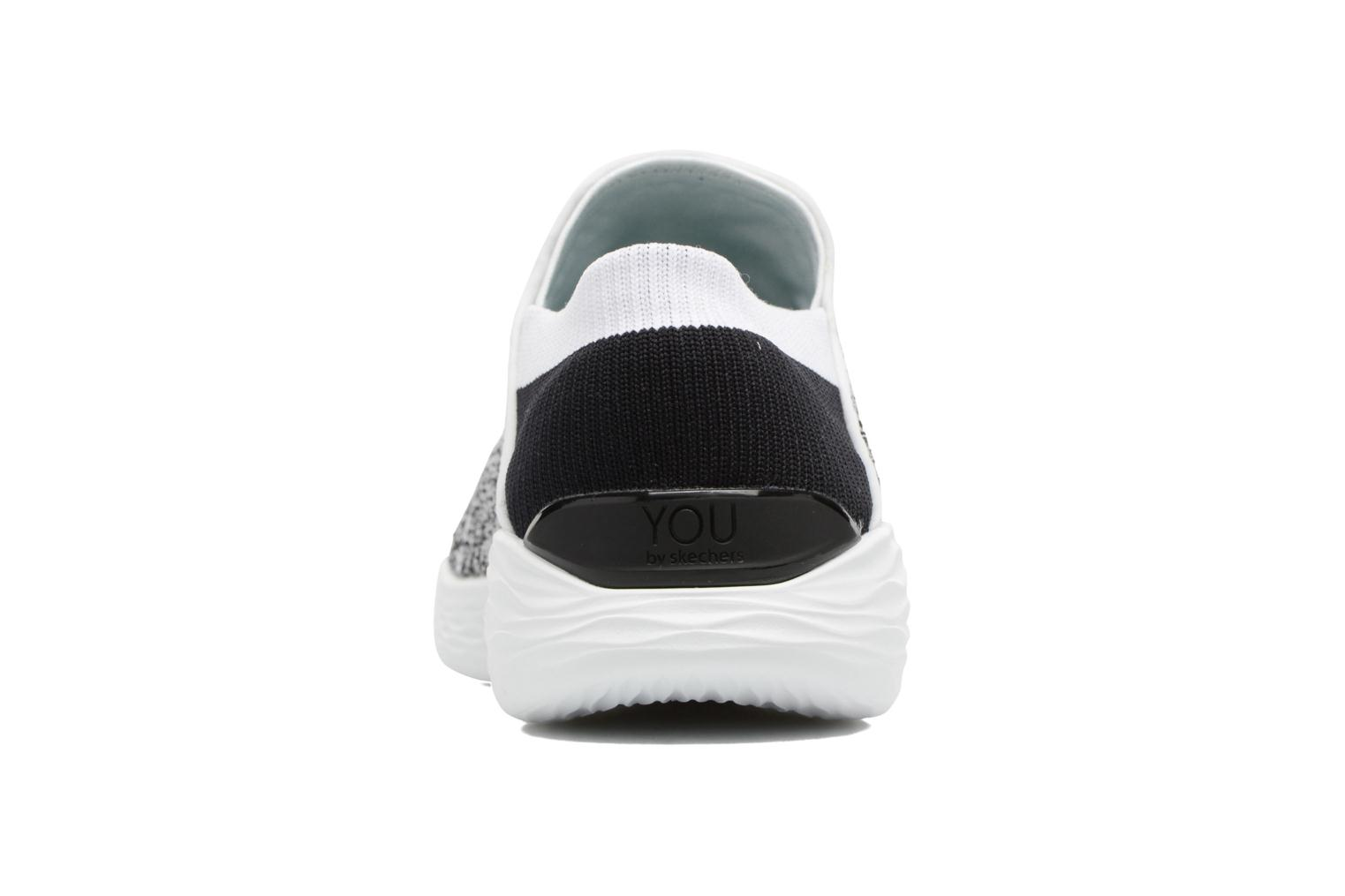 Sport shoes Skechers You Grey view from the right