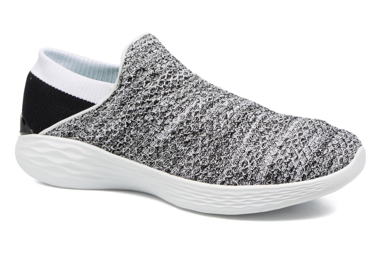 Chaussures de sport Skechers You Gris vue détail/paire