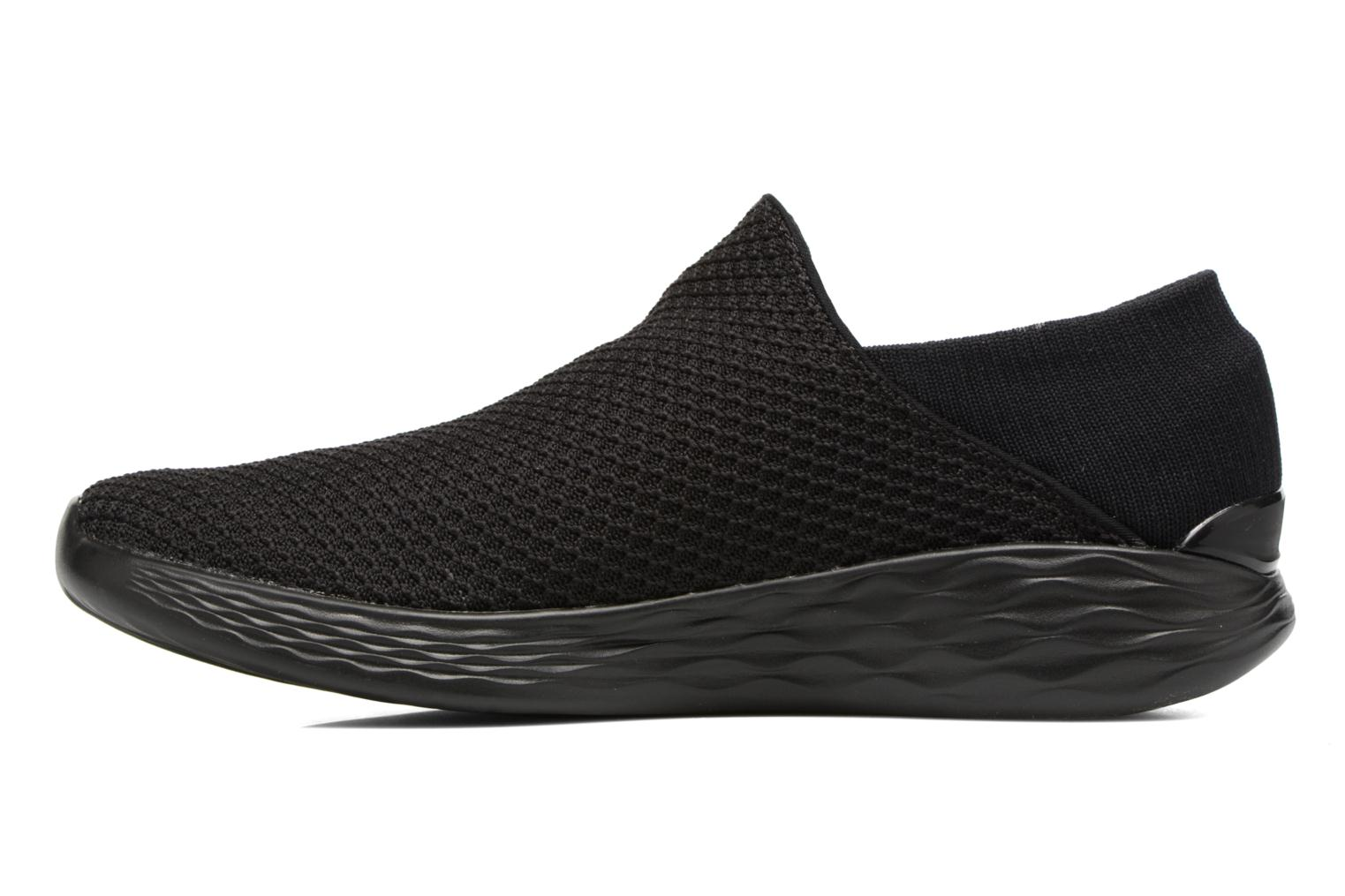 Sport shoes Skechers You Black front view