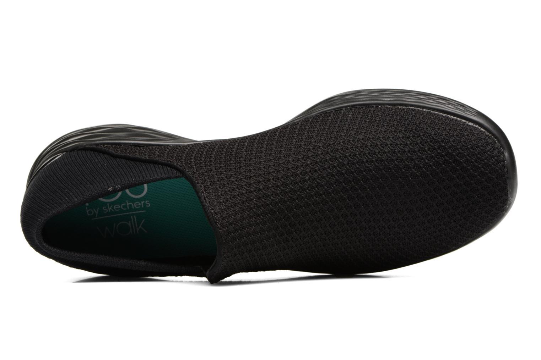 Zapatillas de deporte Skechers You Negro vista lateral izquierda