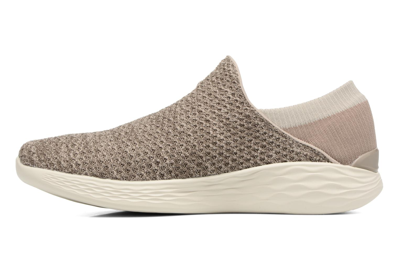 Sport shoes Skechers You Beige front view