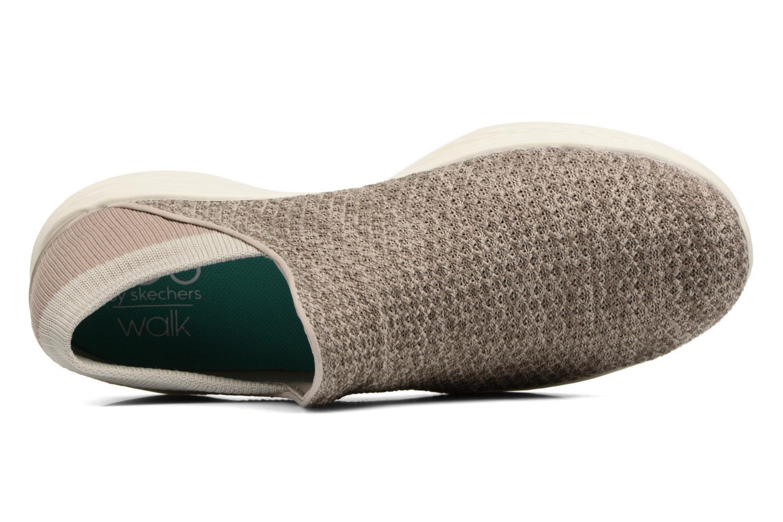 Scarpe sportive Skechers You Beige immagine sinistra
