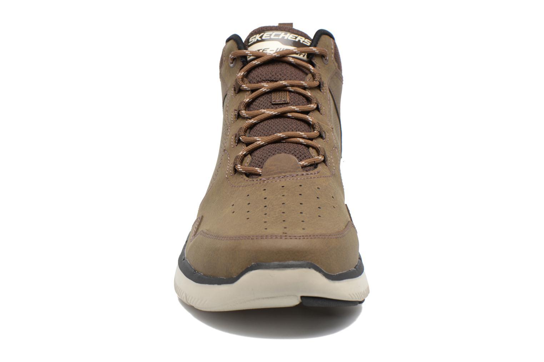 Zapatillas de deporte Skechers Flex Advantage 2.0 Marrón vista del modelo