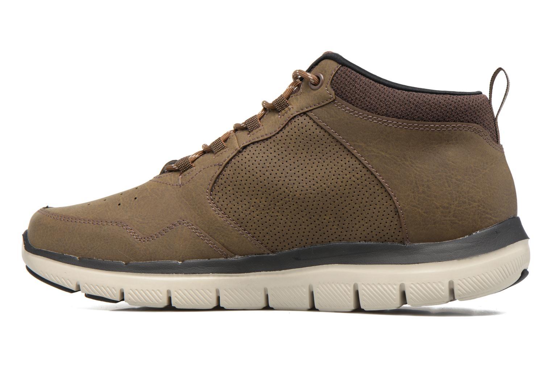 Zapatillas de deporte Skechers Flex Advantage 2.0 Marrón vista de frente