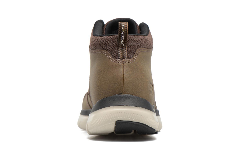 Zapatillas de deporte Skechers Flex Advantage 2.0 Marrón vista lateral derecha