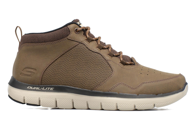 Zapatillas de deporte Skechers Flex Advantage 2.0 Marrón vistra trasera