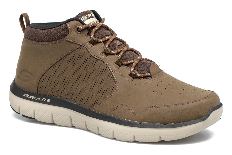 Zapatillas de deporte Skechers Flex Advantage 2.0 Marrón vista de detalle / par