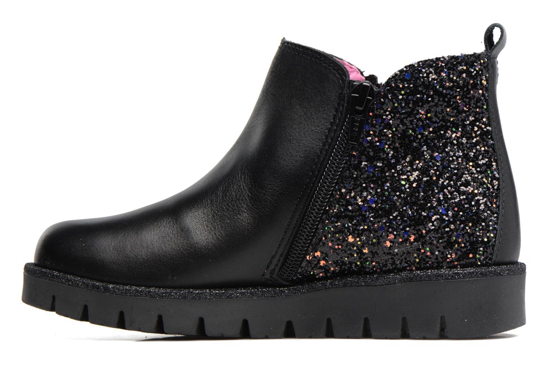 Bottines et boots Pablosky Joana Noir vue face