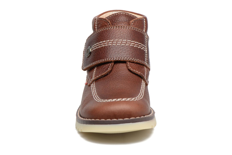 Bottines et boots Pablosky Paby Marron vue portées chaussures