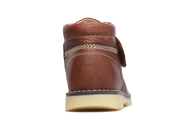 Bottines et boots Pablosky Paby Marron vue droite