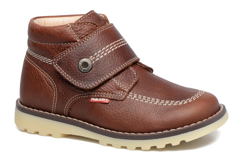 Bottines et boots Pablosky Paby Marron vue détail/paire