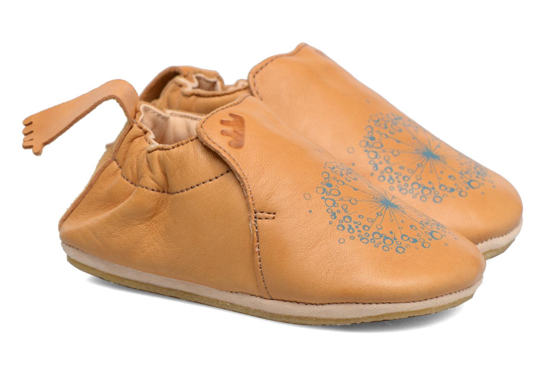 Chaussons Easy Peasy Blublu Magic Marron vue portées chaussures