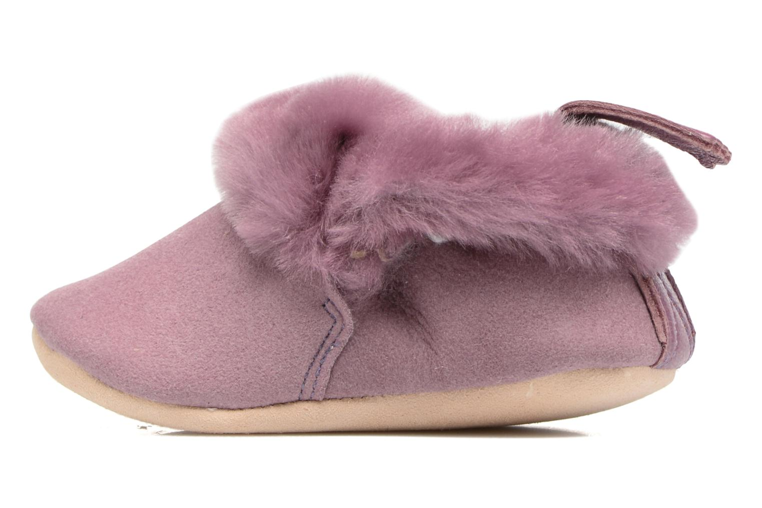 Chaussons Easy Peasy Minion Violet vue face