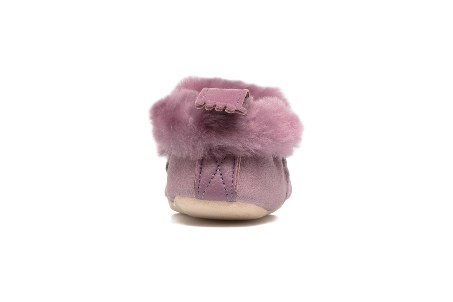 Chaussons Easy Peasy Minion Violet vue droite